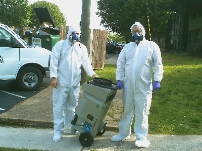 Bio-hazard suits