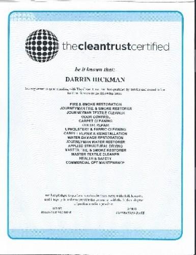 Darrin's certificate