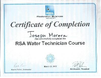 Joseph's RSA certificate