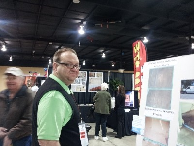 Darrin at Mid TN Home Show