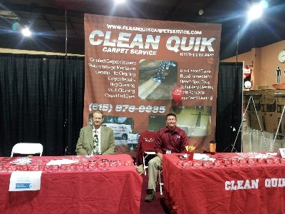 Show booth at Mid TN Home Show
